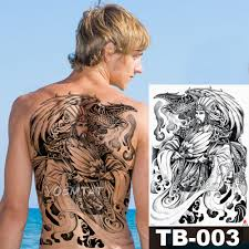 человек Prower дизайн съемная татуировка тело искусство рукав рука тату наклейки 2115