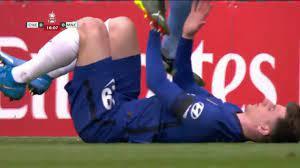 Fernandinho incident with Mason Mount 16' : soccer