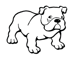 bulldog clipart. Modren Clipart Bulldog Clipart Friendly Puppy Dots Fish Best Free Library Inside Clipart L