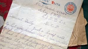 Letter World World War One Soldier Percys Love Letters Reveal Last Months Bbc News