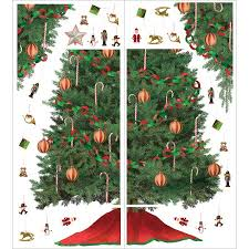 Aliexpresscom  Buy Christmas Tree Decoration Wall Stickers Christmas Tree Decals