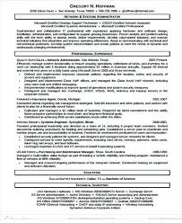 It Network Administrator Resume Template It Infrastructure Manager