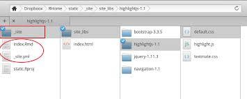 R Markdown Websites :: 정적인 웹사이트 – onesixx.com