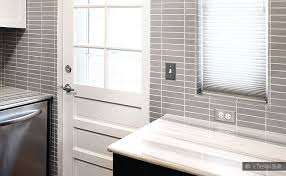 Contemporary Bathroom with Subway Tiles