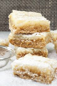 Ooey Gooey Butter Cake Bars Wishes And Dishes