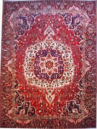 red persian rug image