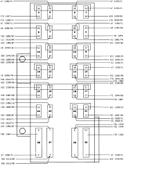 95 jeep owners manual and i need to know the fuse box layout the fuse numbers are in the center of each fuse the second diagram tells what amperage each of the fuses are the third diagram is of the power