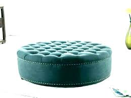round ottoman table round tufted coffee table tufted round ottoman black leather ottoman coffee table round