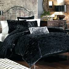faux fur duvet cover set full size of covers king black panther