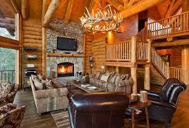 Log cabin interiors designs Rustic Log Lukens Great Room Log Cabin Interior Log Cabin Hub 22 Luxurious Log Cabin Interiors You Have To See Log Cabin Hub