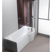 armourcast arco eco 1500mm shower bath right or left hand inc leg pack