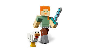 Lego Minecraft 21149 Bigfig Alex Met Kip Coppens Warenhuis