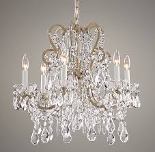restoration hardware baby lighting. manor court crystal 6arm chandelier ceiling restoration hardware baby u0026 child lighting c