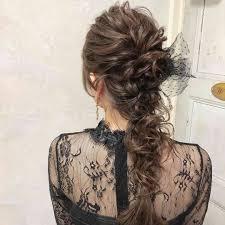 結婚式お呼ばれのヘアスタイル ガールズちゃんねる Girls Channel