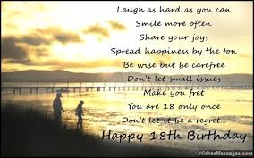 18th Birthday Quotes Cool 48th Birthday Wishes For Son Or Daughter Messages From Parents To