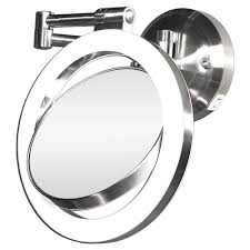 lighted vanity mirrors zadro mirrors wall mount magnifying mirror