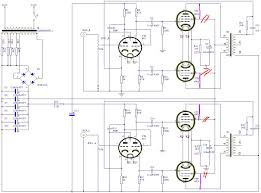 stereo guitar wiring diagram stereo wiring diagram collections el84 lifier schematic