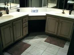 corner double sink bathroom vanity cabinets for inspiration ideas and sinks bath