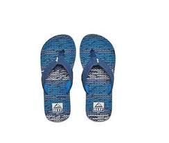 Reef Kids Size Chart Details About New Kids Reef Comfort Sandal Flip Flop Ahi Blue Horizon Waves Original Rf002345