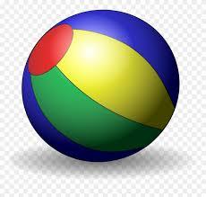 Yellow Blue Green Beach Ball Onlinelabels Clip Art Beachball Image Ball Blue