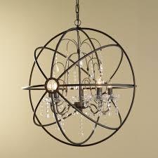 glamorous crystal sphere chandelier orb chandelier light hinging orb chandelier white wall interesting