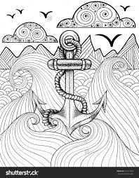 Small Picture Vector Zentangle Print For Adult Coloring Page Hand Drawn
