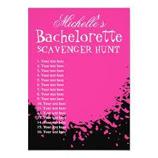 Bachelorette Party Scavenger Hunt Template List