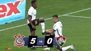 CORINTHIANS ATROPELA FLU - Corinthians 5 x 0 Fluminense Melhores Momentos  13 01 2021 - YouTube