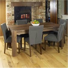 beautifull mayan walnut dark wood modern furniture large dining table and six awesome ideas 6 seater