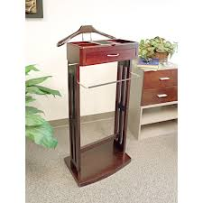 Mens Suit Valet Winsome Avalon Wooden Valet Stand And Mirror Hayneedle