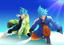 Goku and Vegeta SSJ Blue 4k Ultra HD ...
