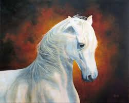 canvas sold white magic 16 x 20 oil on