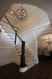 entryway lighting ideas. Oil Rubbed Bronze Chandelier Spaces Transitional With Entry Foyer Gray Walls Entryway Lighting Ideas