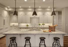 seattle crate and barrel chandelier kitchen transitional with pendant lights low back counter height stools subzero refridgerator