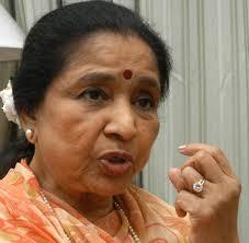 A file photo of Asha Bhosle. Photo: Shanker Chakravarty. The Hindu A file photo of Asha Bhosle. Photo: Shanker Chakravarty - TH03__ASHA_BHOSLE_492383f