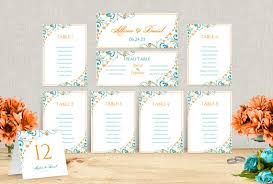 Microsoft Seating Chart Wedding Seating Chart Template Download Instantly