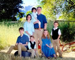 stephen and rebecca burton family portrait
