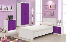 Delightful Purple Gloss U0026 Ash White Bedroom Units U0026 Sets + 3ft Single Ottoman Storage  Bed