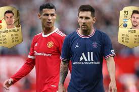 Cristiano Ronaldo vs Lionel Messi on FIFA 22: How do ratings of rivals  compare and who is better?