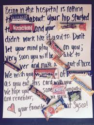Get Well Soon Poster I Made This Get Well Candy Card For A Guy I Work With We