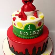 Elmo 1st Birthday Millers Bakery