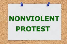 Kết quả hình ảnh cho nonviolent protest