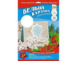 <b>Апплика Картон</b> белый мелованный двусторонний Открытка А4 ...
