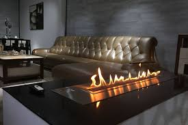 art design ethanol fireplaces insert with remote controller