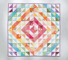 11 simple quilt blocks you can make in 10 minutes - Stitch This ... & Half-square triangle quilt Adamdwight.com