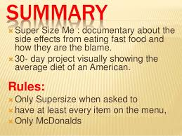 super size me super size me by morgan spurlock 2