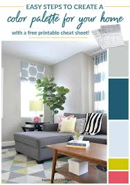Beyond Paint Color Chart How To Create A Color Palette For Your Home
