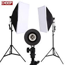 photography light photo studio accessories studio softbox continuous lighting kit photo 2 light stand 2