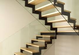 solid wooden stair steps