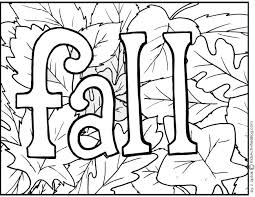 Small Picture Sensational Design Fall Coloring Pages For Kids Printable